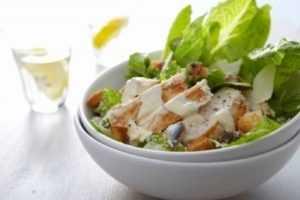 Recette Salade au poulet sucrée-salée