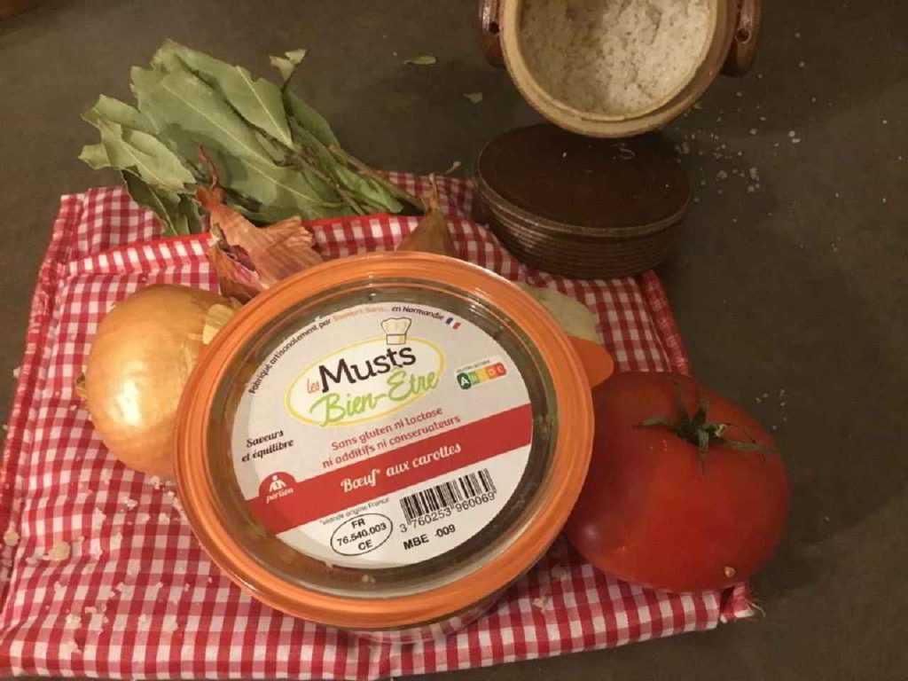 Boeuf aux carottes de Les Musts Bien-être