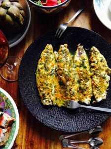 Recette Filets de maquereaux marinés à la purée d'ail de Provence