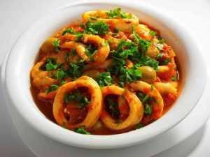 Recette Fricassée de calamars à l'italienne