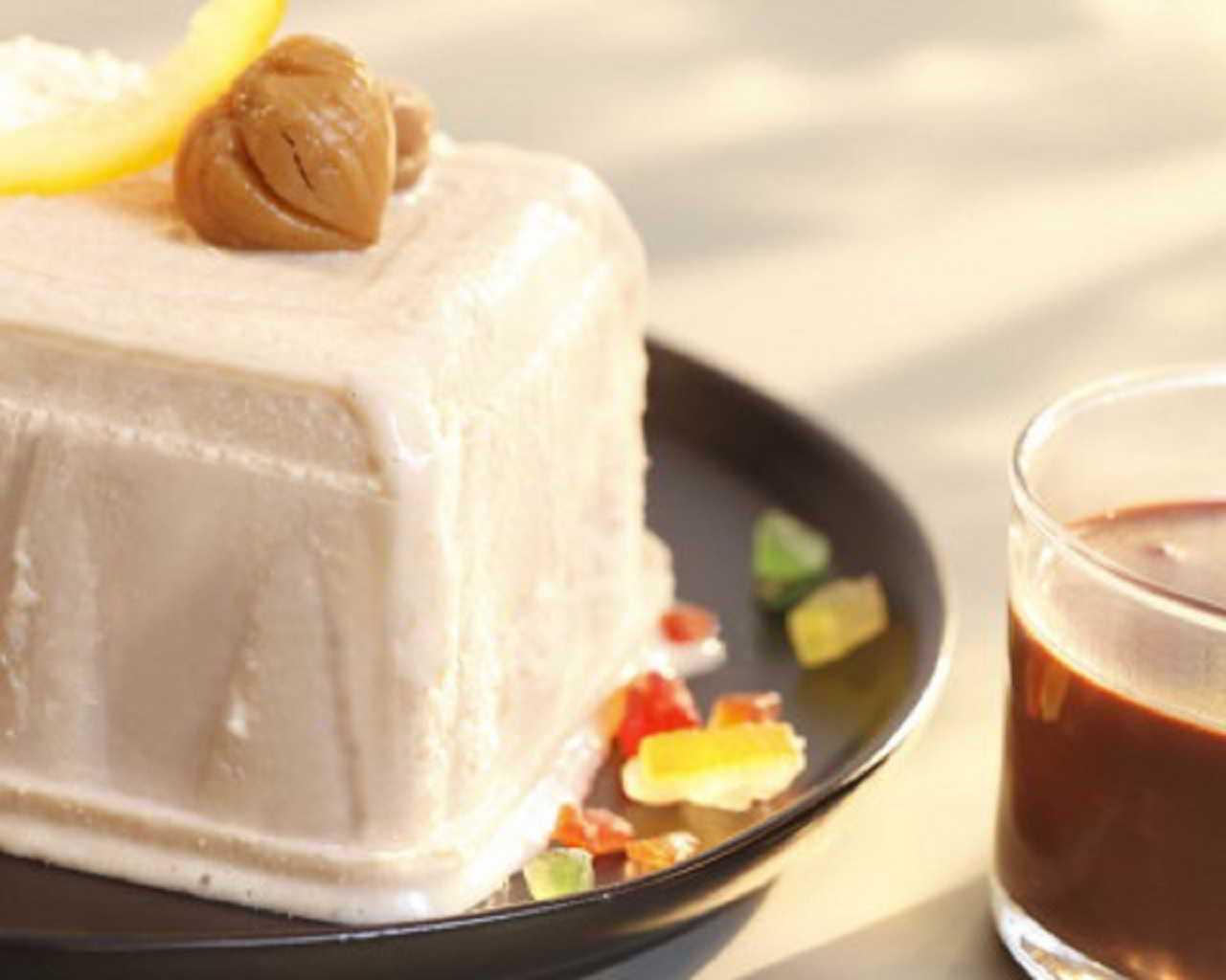 Recette Glace aux marrons et coulis de chocolat