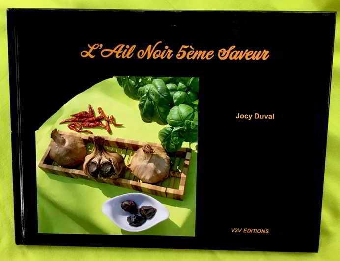 Livre Ail noir 5e saveur par Jocy Duval, V2V