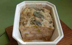 Recette Terrine de lapin à la pistache