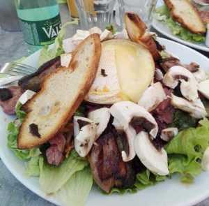 Recette Salade de foie de volaille