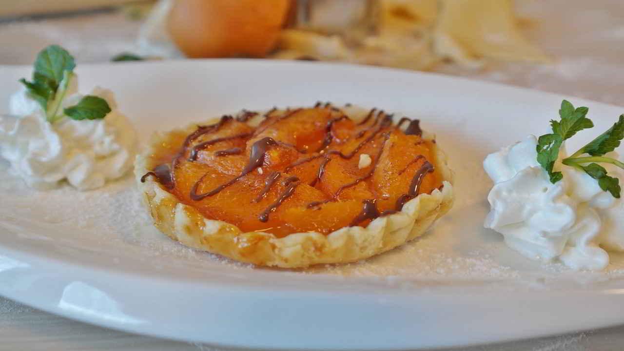 Recette Tarte d'été aux abricots