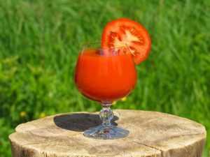 Recette Jus de tomates au basilic