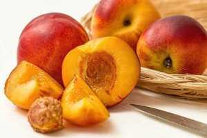 Recette Tarte Nectarines au nectar de noisette