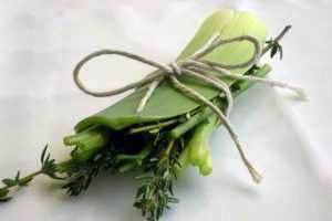 Recette Bouquet garni