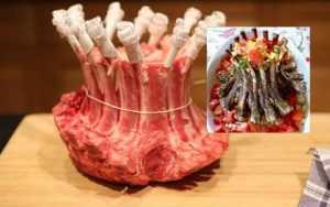 Recette Agneau en couronne et ses légumes de printemps