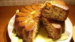 Recette Gâteau au yaourt, poires et chocolat