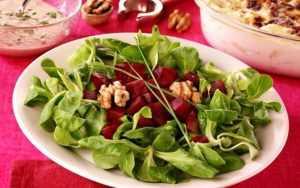 Recette Salade aux couleurs de l'automne