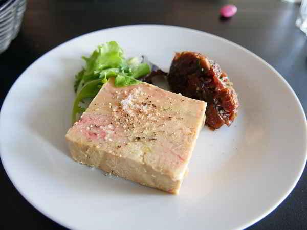 Foie gras à la fleur de sel