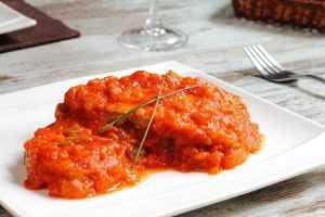 Recette Sauce basquaise